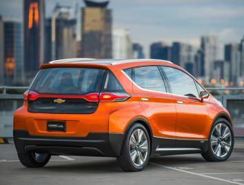 Chevrolet Bolt concept, rear view
