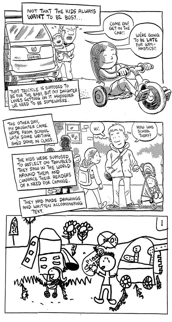 Comic about parenting.