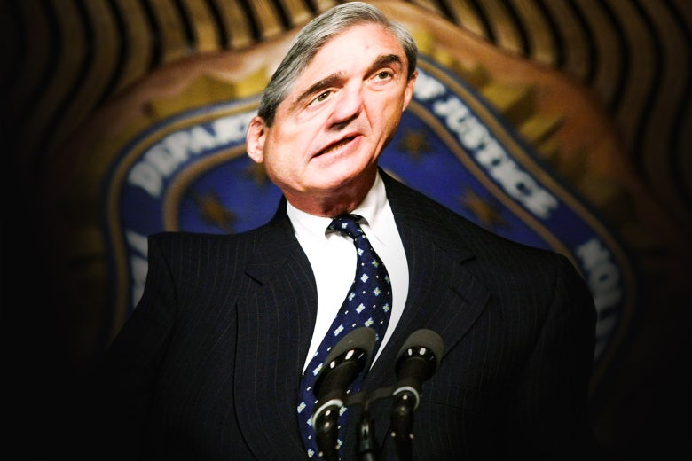 A warped picture of Robert Mueller