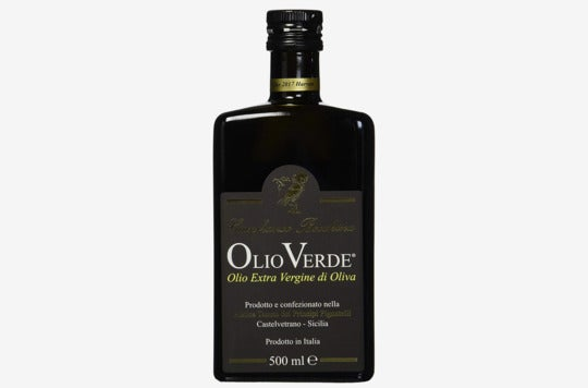 Olio Verde Oil Olive Extra Virgin.