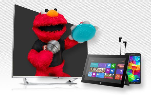 Elmo, smartphones and 3D TVs: these are few of my least favorite things.