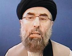 Photo of Gulbuddin Hekmatyar. Click image to expand.