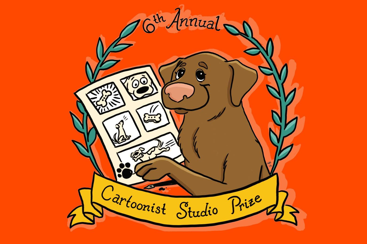 The Cartoonist Studio Prize logo