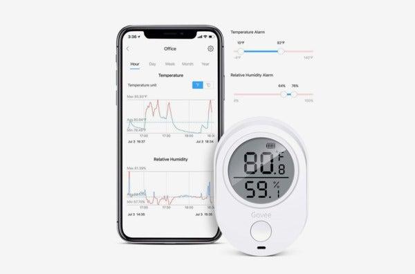 Govee Thermometer/Hygrometer.