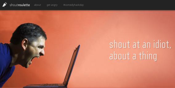 ShoutRoulette.com