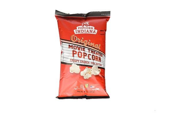 Popcorn Indiana Movie Theater Popcorn.