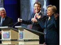 Des Moines Register Democratic Presidential Debate. Click image to expand.