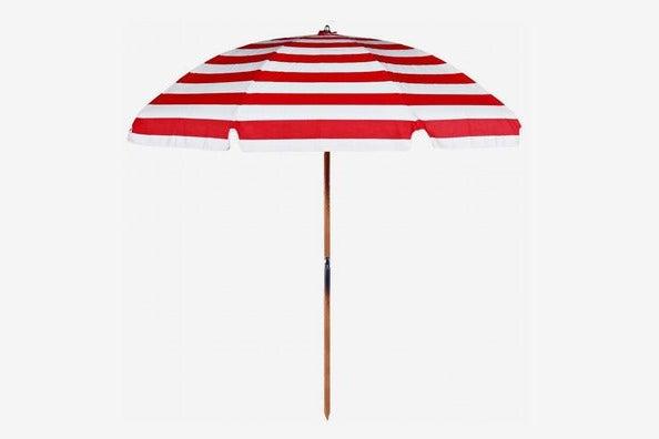 striped Frankford Umbrella