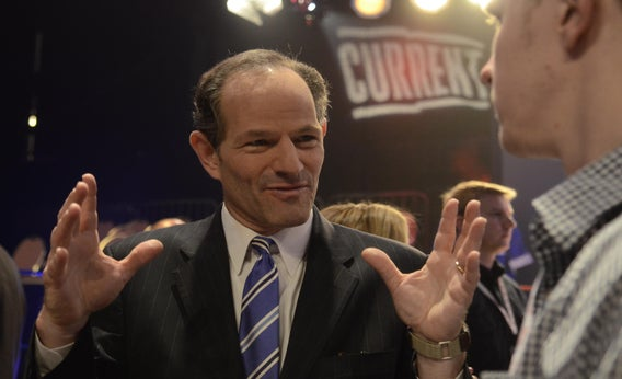 Eliot Spitzer at a 2012 press conference in New York.