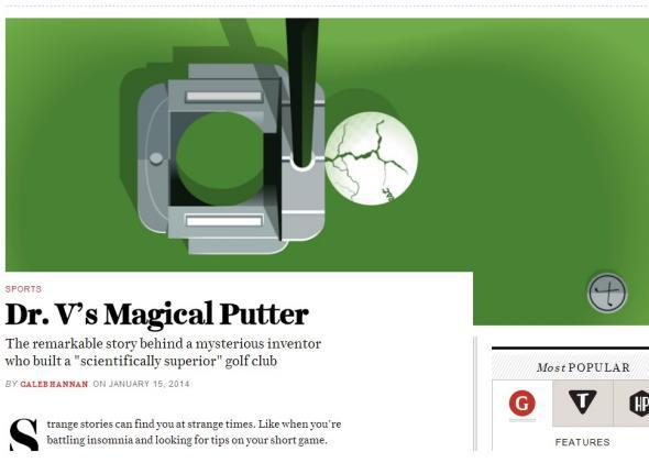 Dr. V's Magical Putter