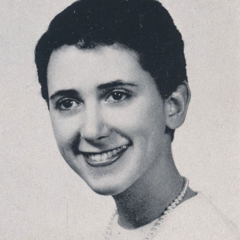 Yearbook photo of Eleanor Voss.