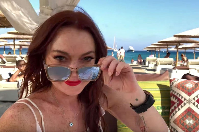 Lindsay Lohan's Beach House, reviewed. - Slate thumbnail