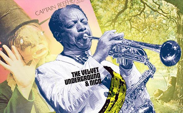 Ornette Coleman; Captain Beefheart, Trout Mask Replica; The Velvet Underground &