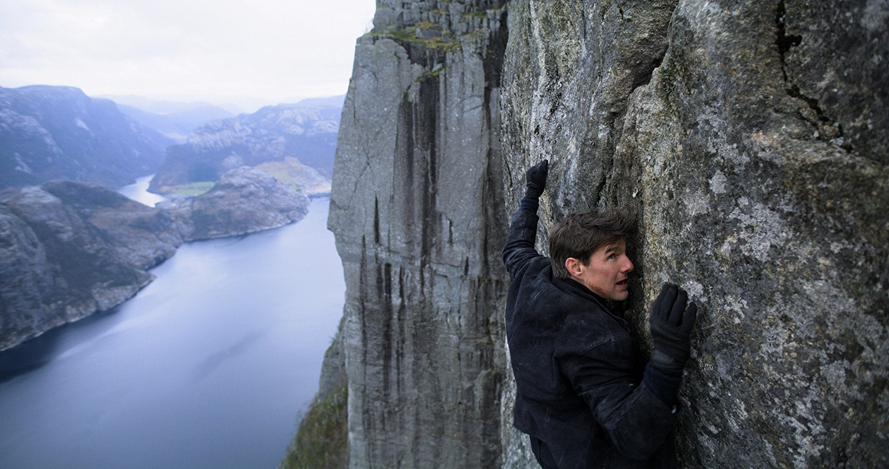 Tom Cruise (or is it???) in Mission: Impossible—Fallout