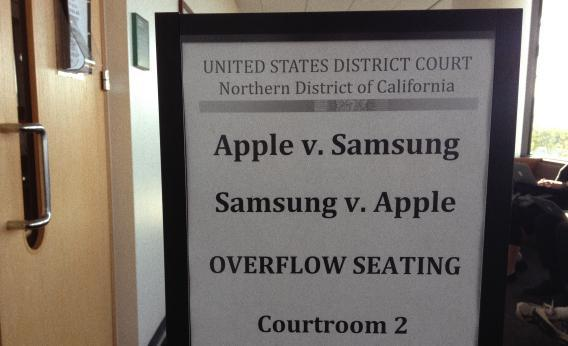the trial formerly known as apple v. samsung