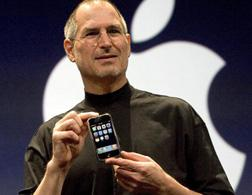 Steve Jobs reveals the first iPhone in January 2007. Click image to expand.