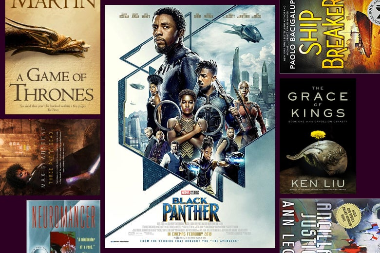 Covers of many of the books and movies mentioned in this article.