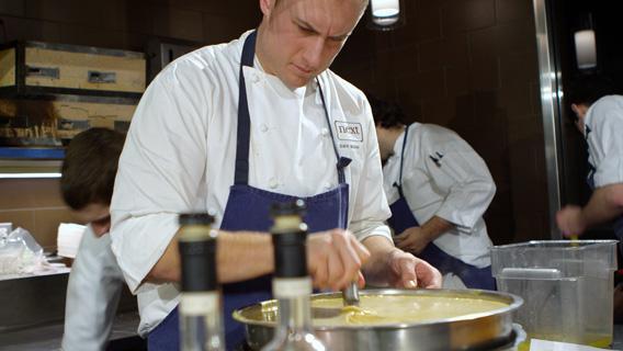 Next's Hunt chef.
