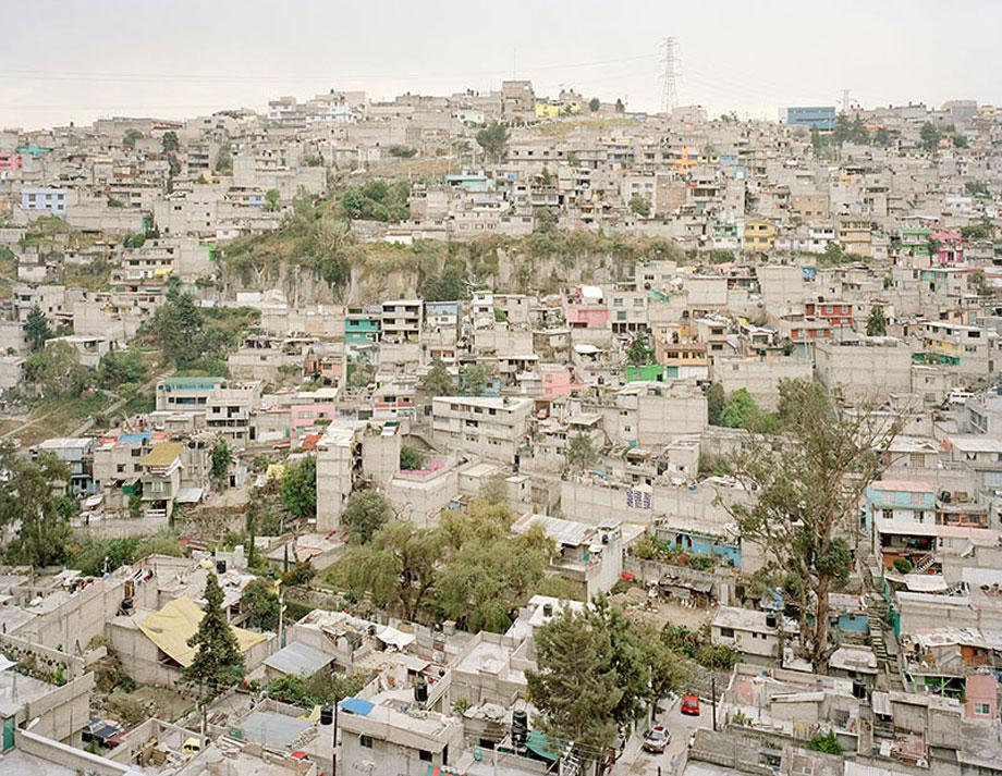 View of an homes in Naucalpan, a city of 1 million people in the State of Mexico, bordering on Mexico City.