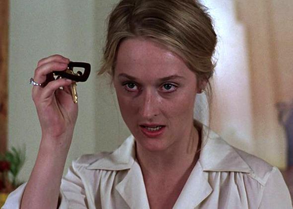 Meryl Streep in Kramer vs. Kramer.