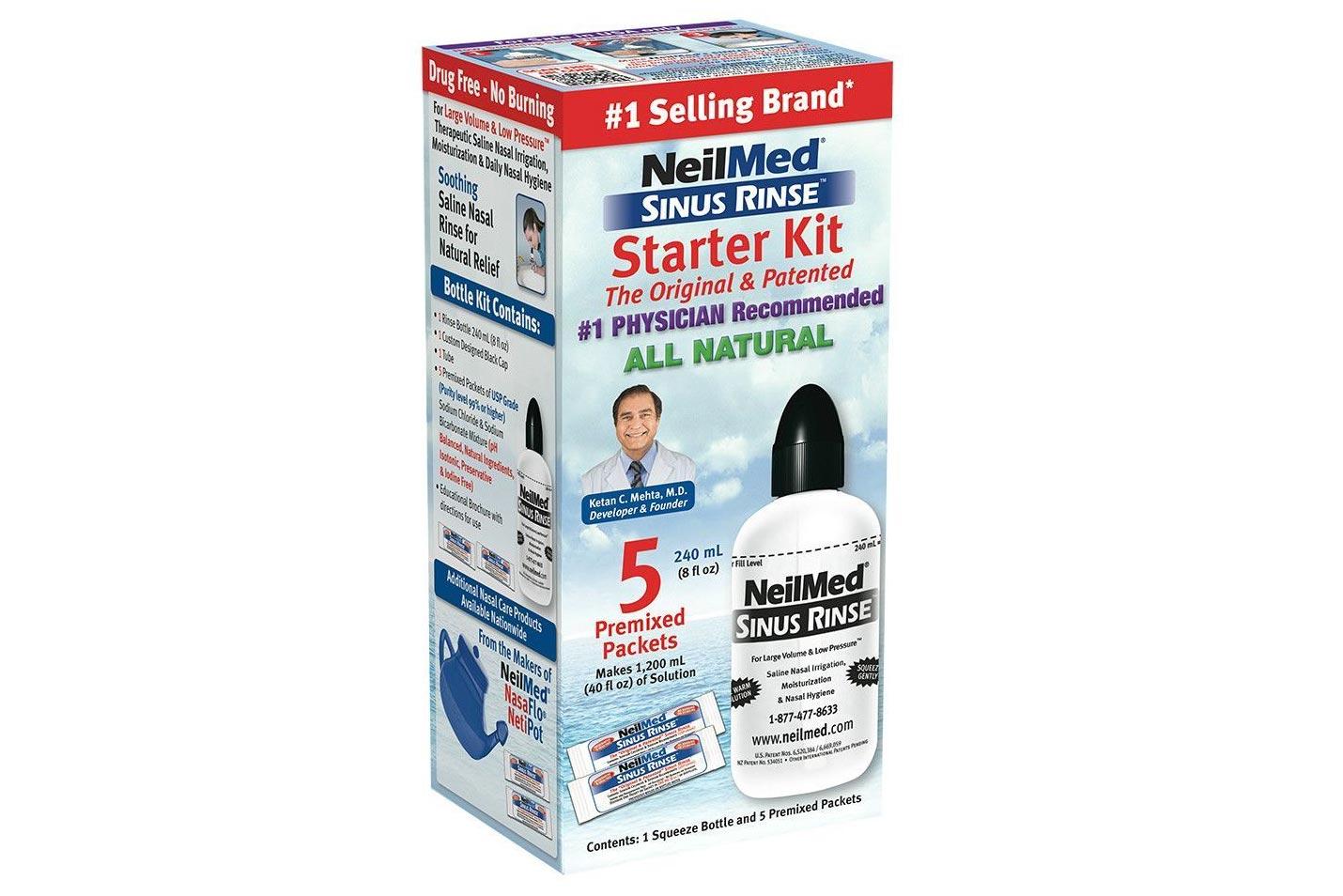 Neilmed Sinus Rinse Starter Kit box