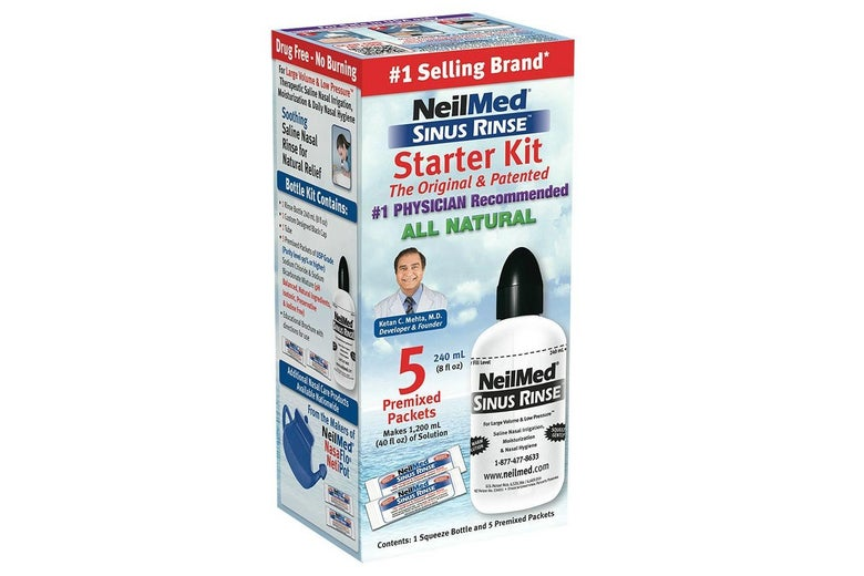 NeilMed Sinus Rinse Starter Kit box.
