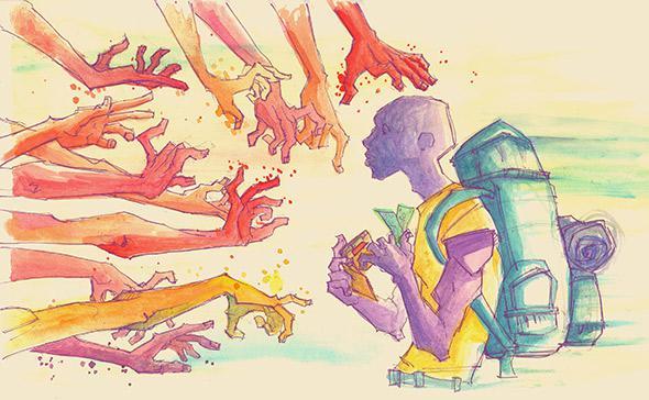 Illustration by Rem Broo.