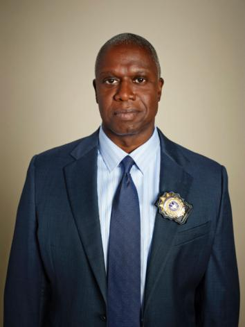 Andre Braugher as Capt. Ray Holt on Brooklyn Nine-Nine