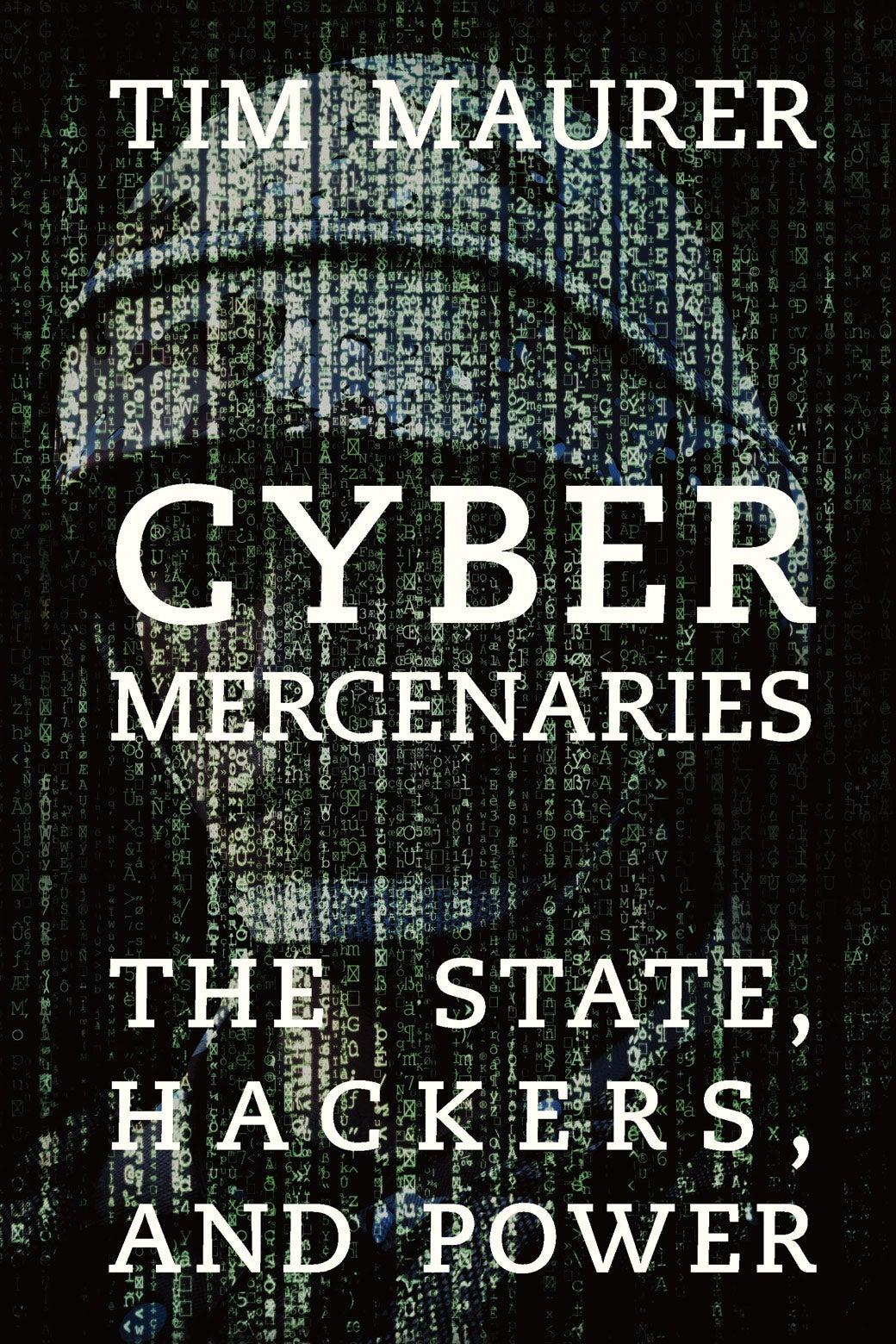 Book Cover of Cyber Mercenaries.