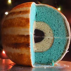 Jupiter cake interior