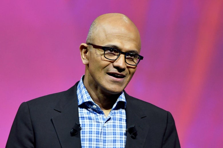 Nadella asserted that the contracts have nothing to do with family separation.