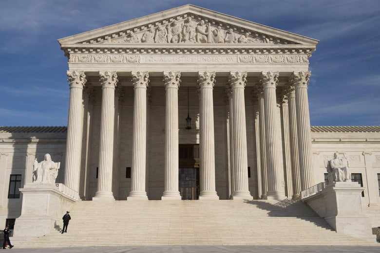 The U.S. Supreme Court as seen in 2017.