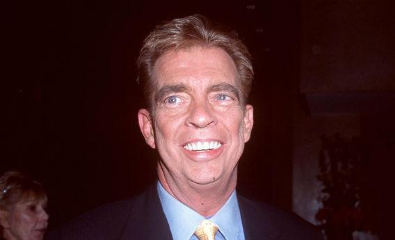 Morton Downey, Jr. at the Friars Club to roast talk show host, Jerry Springer, Beverly Hills, CA.