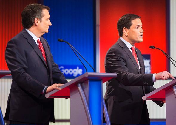 Cruz and Rubio