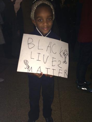 "Ferguson protest Washington D.C., ""Black Lives Matter"""