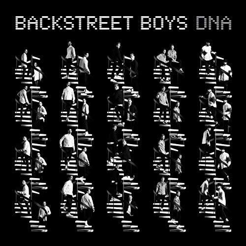 The Backstreet Boys' DNA album cover.