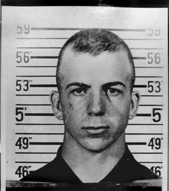 Lee Harvey Oswald as a marine.