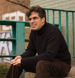Author Jonathan Lethem, 2008.