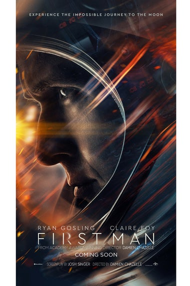 First Man poster