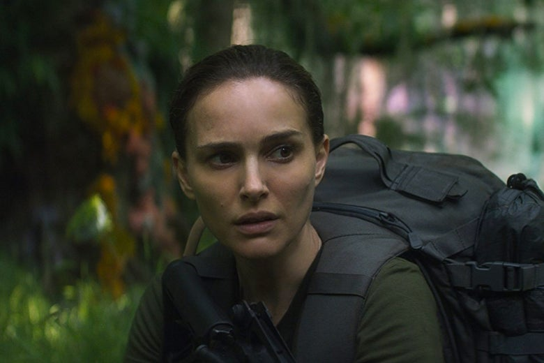 Natalie Portman in Annihilation.