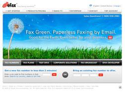 eFax site.