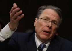 Wayne LaPierre, Executive Vice President and CEO of the National Rifle Association.