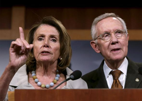 Harry Reid & Nancy Pelosi