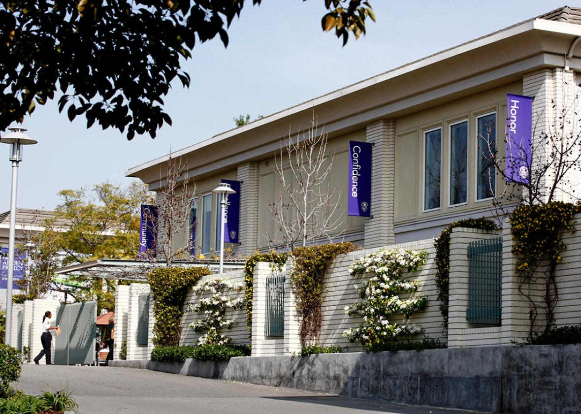 Marlborough School, Hancock Park, California.