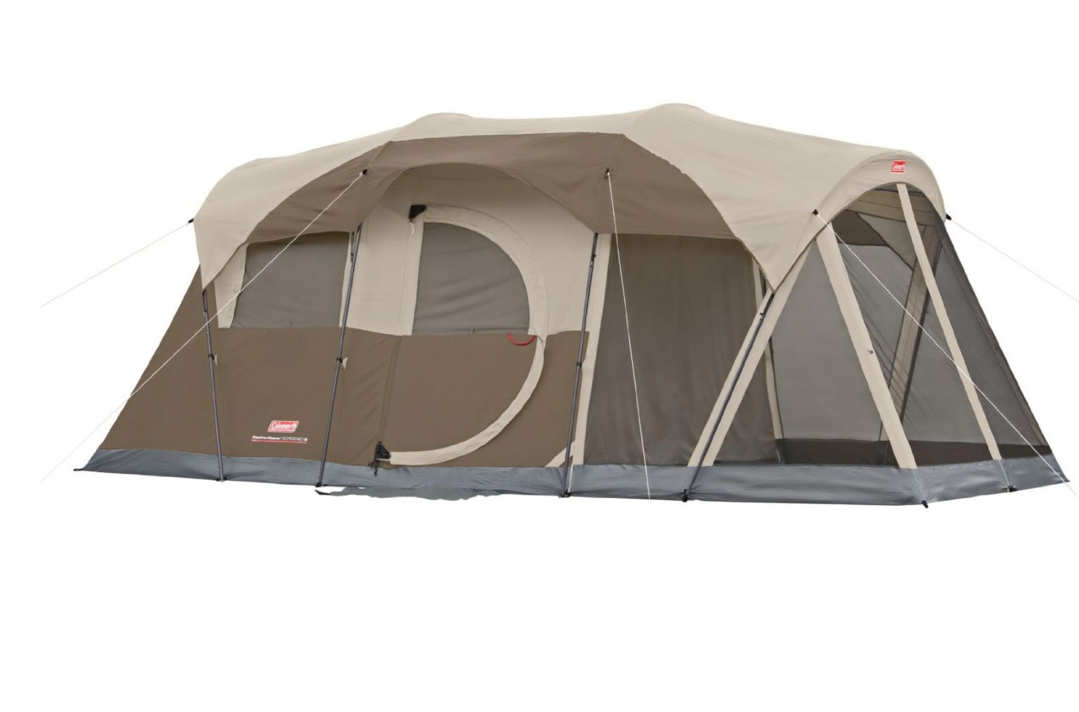 Coleman WeatherMaster Six-Person Screened Tent.