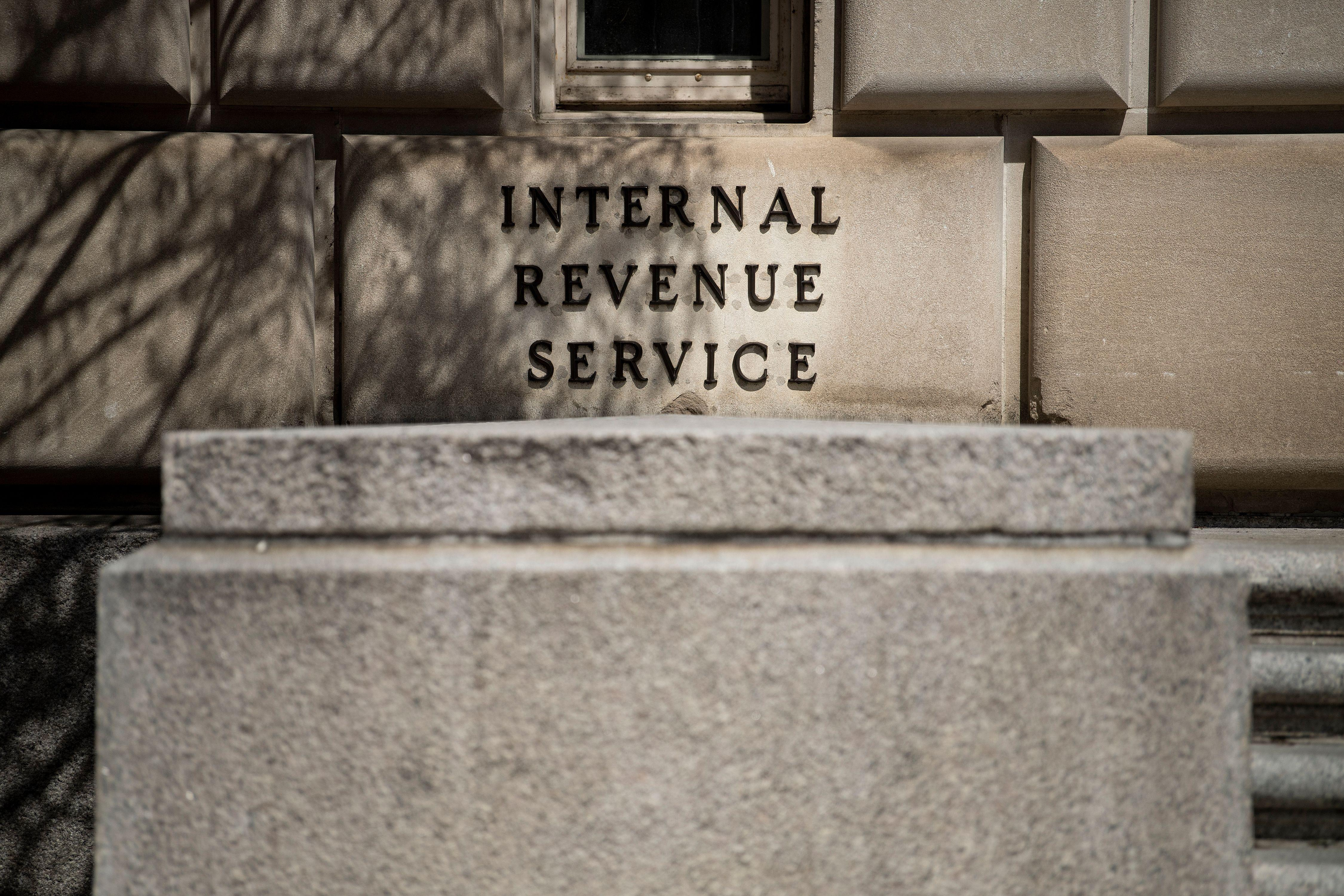 The Internal Revenue Service building on March 27, 2019, in Washington, DC.