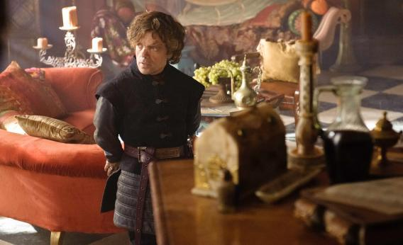 Peter Dinklage as Tyrion Lannister in HBO's Game of Thrones.