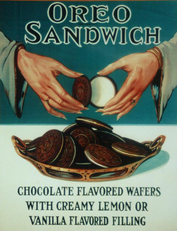 An Oreo advertisement from 1924.
