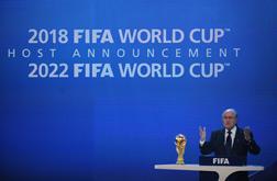 FIFA President Joseph Blatter.