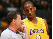 NBA referee Tim Donaghy and Kobe Bryant. Click image to expand.
